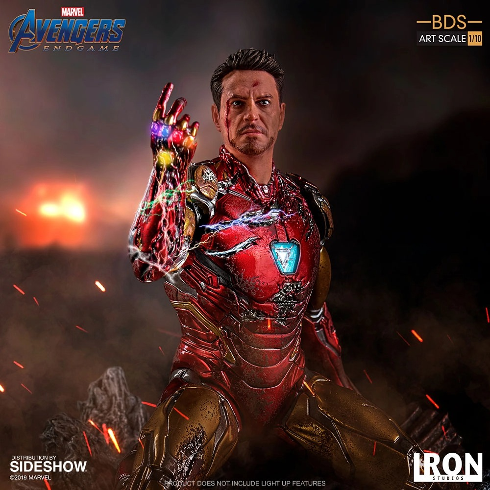 Art Scale 1:10 Battle Diorama Series: I Am Iron Man Statue