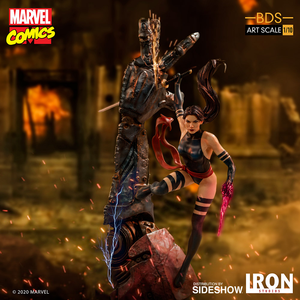 [Pre-Order] Art Scale 1:10 Battle Diorama Series: X-Men Psylocke Statue