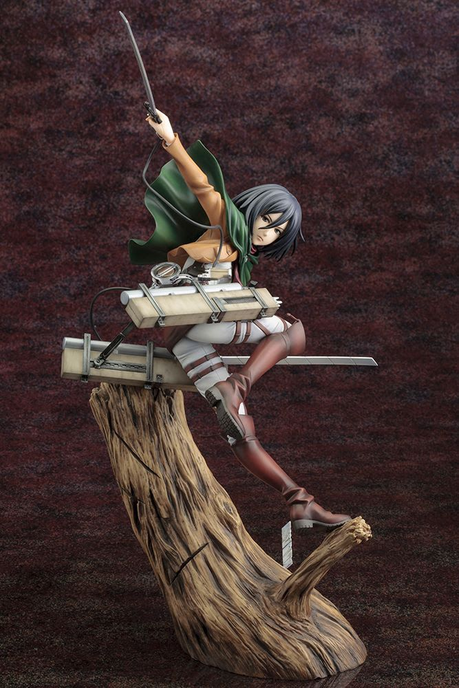 [Pre-Order] ArtFXJ Statue - Attack on Titan Mikasa Ackerman (Renewal Ver.) - Click Image to Close