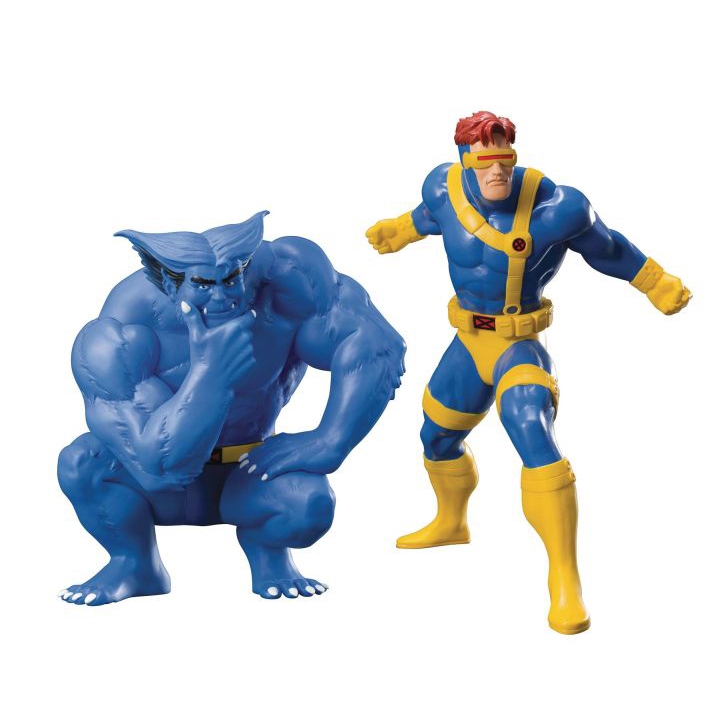 [Pre-Order] Marvel Universe Cyclops & Beast Two pack ArtFX+ Statue