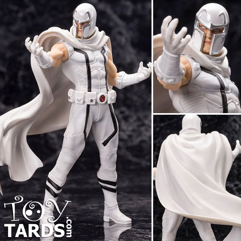 Marvel Now! Magneto ARTFX+ Statue White Costume