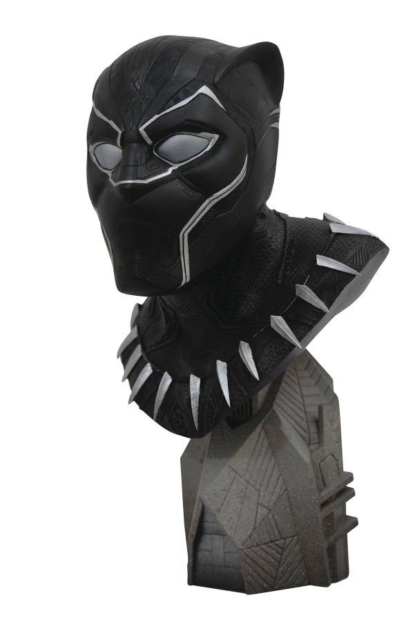 [Pre-Order] Legends in 3D - Avengers 3 Black Panther 1/2 Scale Bust