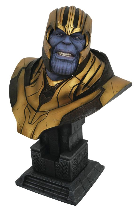 [Pre-Order] Legends in 3D - Avengers 4 Thanos 1/2 Scale Bust