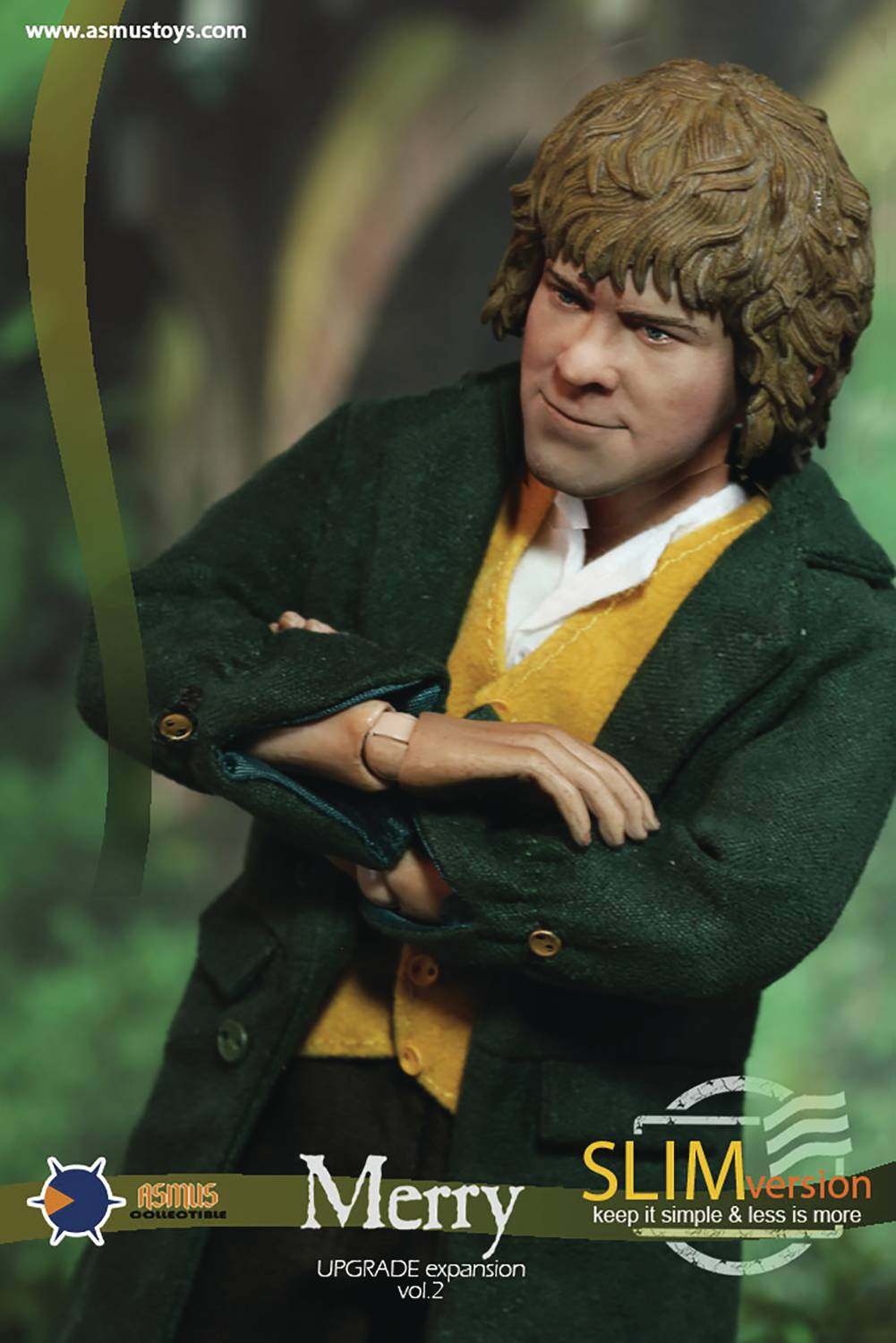 [Pre-Order] Lord of the Ring - Merry Slim Ver. 1/6 Scale Figure