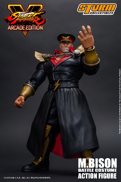 Street Fighter V - M. Bison Battle Costume 1:12 Action Figure