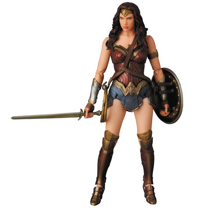 MAFEX: Batman v. Superman: Dawn of Justice - Wonder Woman