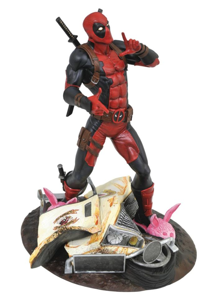 Marvel Gallery - Taco Truck Deadpool Statue