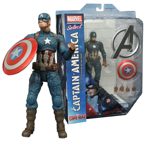 Marvel Select - Civil War - Captain America