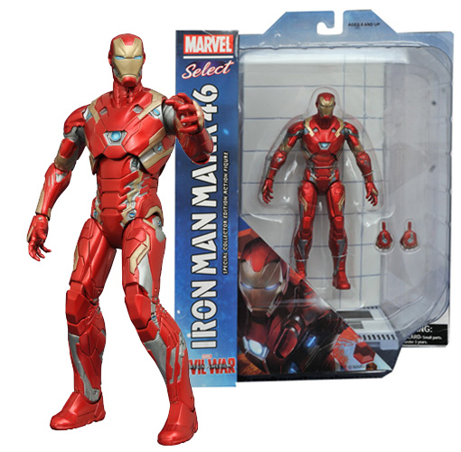 Marvel Select - Civil War - Iron Man Mark XLVI