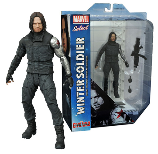 Marvel Select - Civil War - Winter Soldier