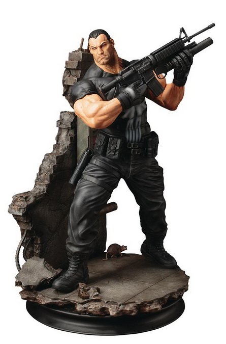 [Pre-Order] Marvel Universe Punisher Fine Art Statue - Click Image to Close