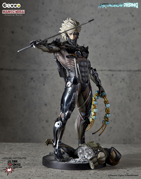 Metal Gear Rising: Revengeance - Raiden 1/6 Scale Statue