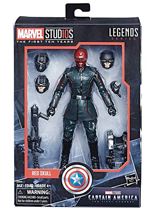 Marvel Legends MCU 10th Anniversary - Red Skull - Click Image to Close