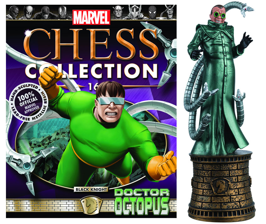 Marvel Chess Magazine #16 Doctor Octopus (Black Knight)