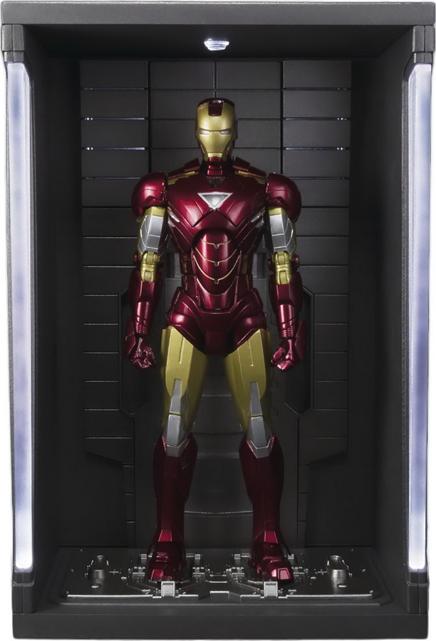 S.H. Figuarts: Marvel - Iron Man Mark VI with Hall of Armor Set