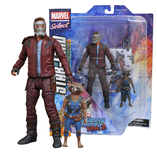 Marvel Select - Guardians of the Galaxy Vol 2 - Star-Lord & Rocket
