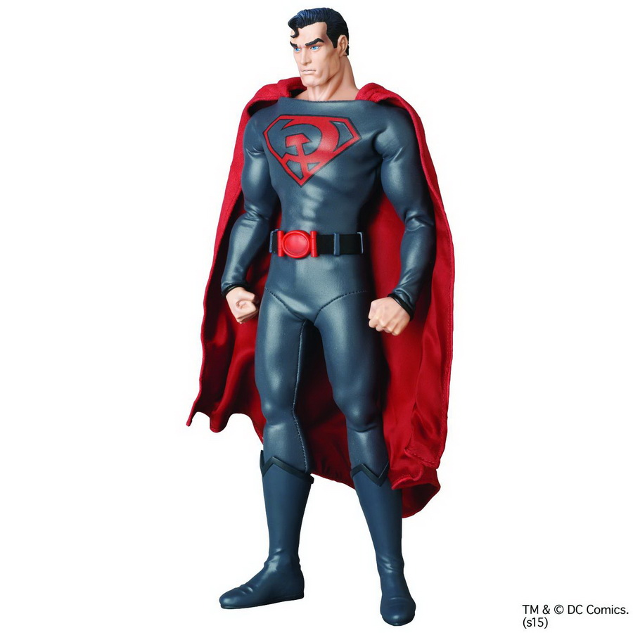 RAH: DC Red Son Superman *Clearance