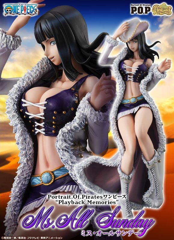 [Pre-Order] One Piece P.O.P: Nico Robin Miss All Sunday Playback Memories LIMITED EDITION