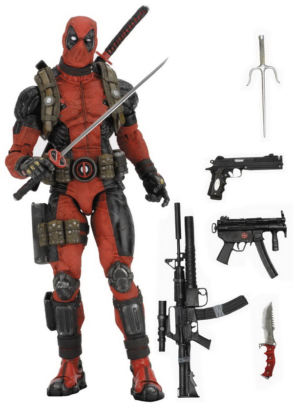 Marvel - Deadpool 1/4 Scale Action Figure