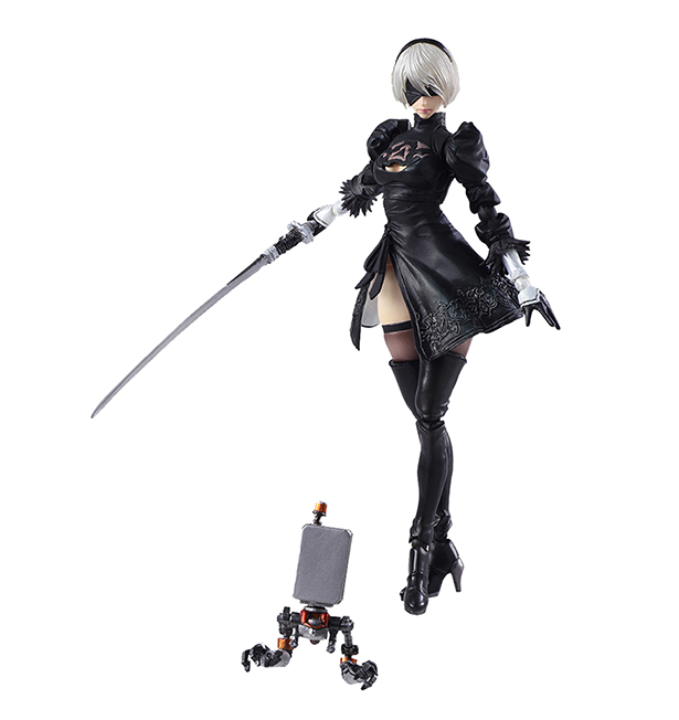 [Pre-Order] Bring Arts: NieR - Automata 2B And Machine Lifeform