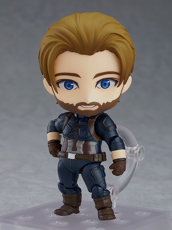 [Pre-Order] Nendoroid: Marvel Infinity War - Captain America Infinity Edition Deluxe Ver.