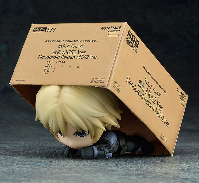 Nendoroid: Metal Gear Solid 2: Sons of Liberty - Raiden