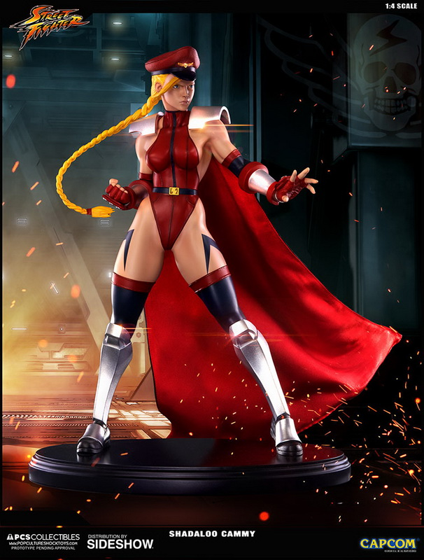 [Pre-Order] Street Fighter IV - Shadaloo Cammy Statue