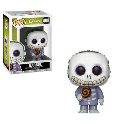 POP! Disney: Nightmare Before Christmas - Barrel