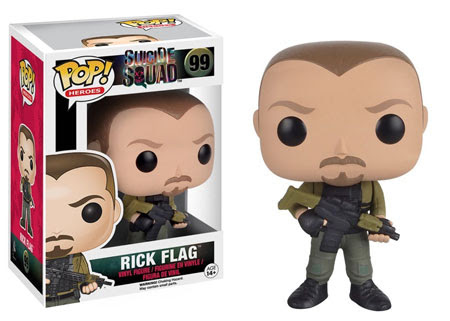 Pop! Heroes - Suicide Squad - Rick Flag