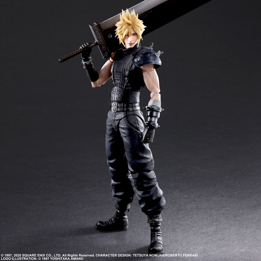 [Pre-Order] Play Arts -Kai- Final Fantasy VII Remake - Cloud Strife Ver. 2