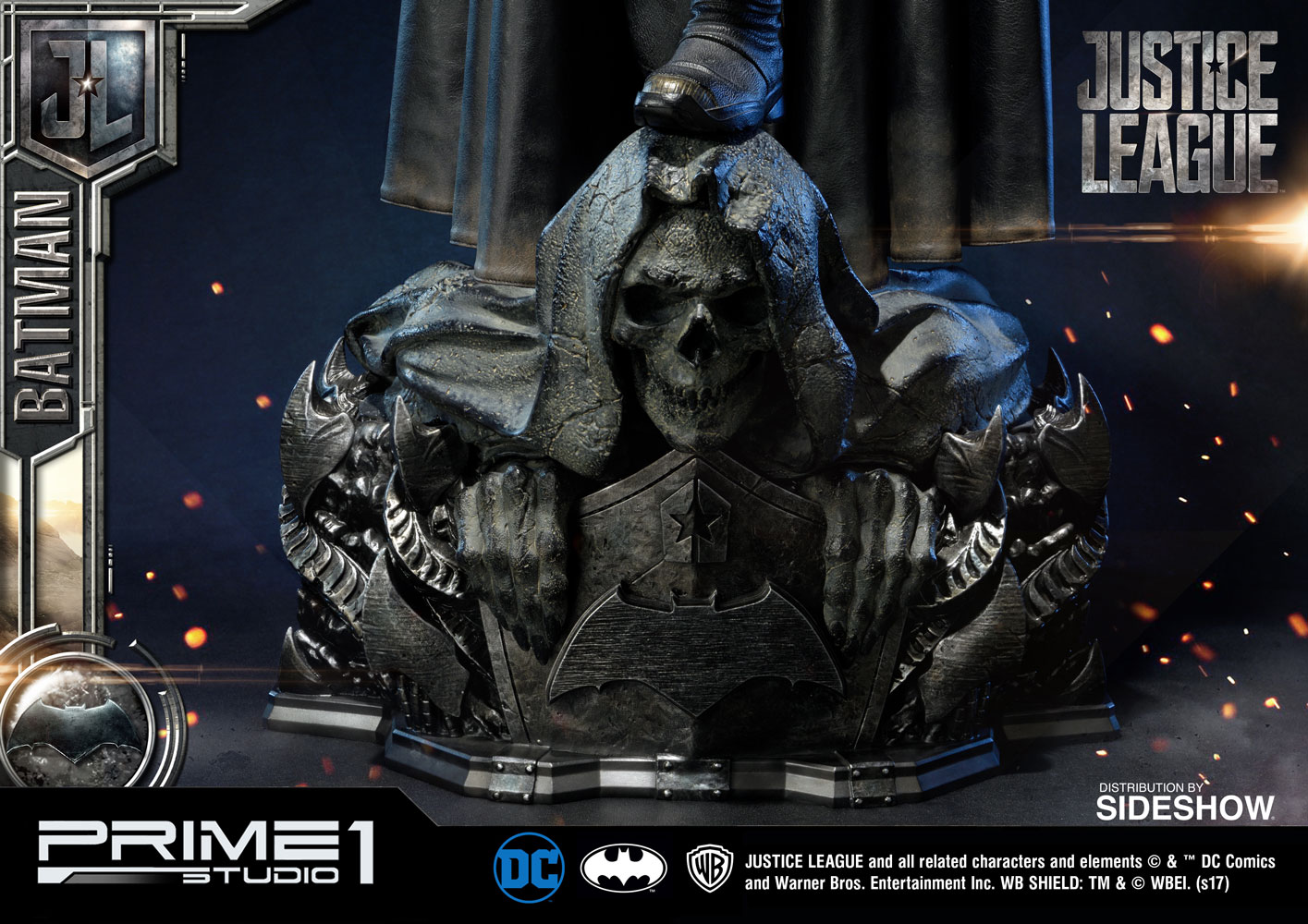 [Pre-Order] Justice League Batman 1/3 Scale Statue - Click Image to Close