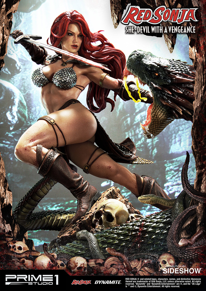 [Pre-Order] Red Sonja: She-Devil with a Vengeance Statue