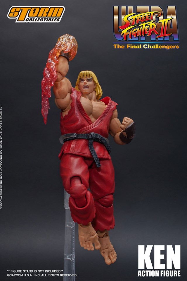[Pre-Order] Ultra Street Fighter II - Ken 1:12 Action Figure
