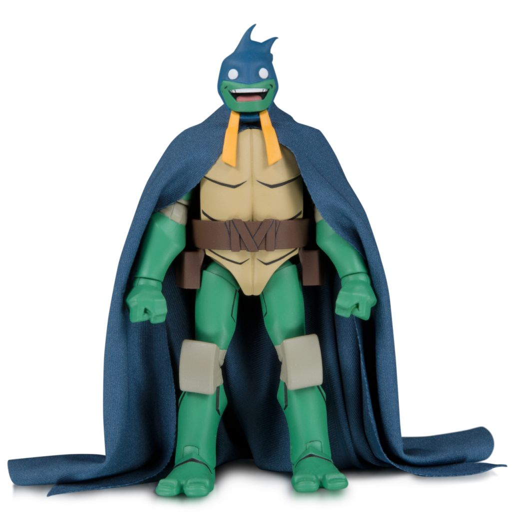 2019 SDCC DC TMNT Michaelangelo as Batman Action Figure