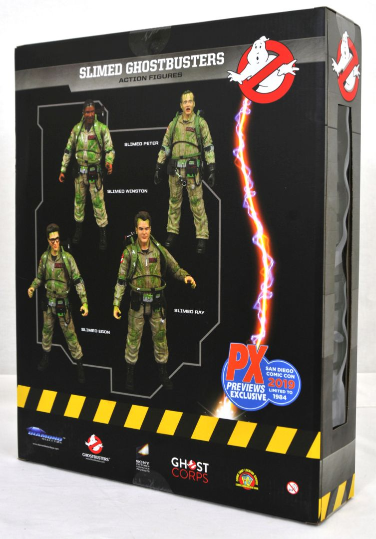 2019 SDCC Ghostbusters Action Figure Box Set