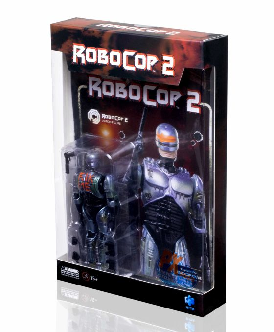 [Pre-Order] 2020 SDCC RoboCop 2 - RoboCop KICK ME PX 1/18 Figure - Click Image to Close