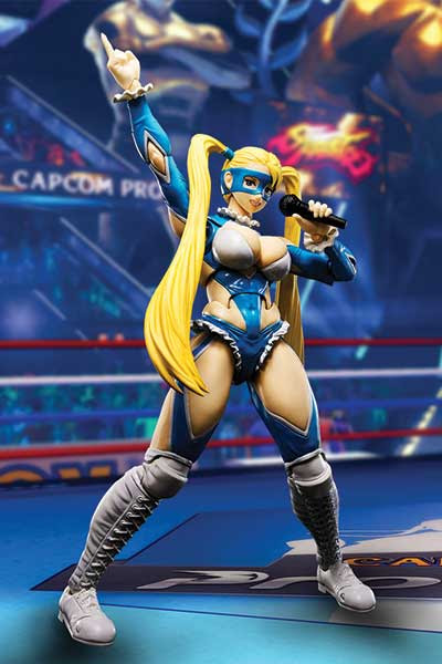 S.H.FIguarts Street Fighter V - Rainbow Mika