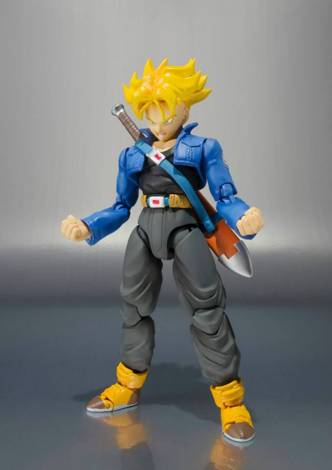[Pre-Order] S.H.Figuarts Dragon Ball - Super Saiyan Trunks Premium Color Edition