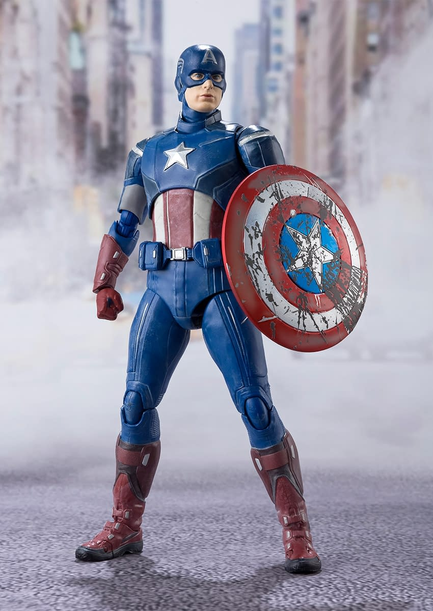 [Pre-Order] S.H. Figuarts: Avengers - Captain America Battle of New York Ver.