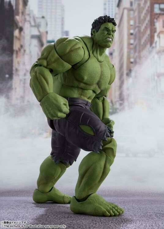 [Pre-Order] S.H. Figuarts: Avengers - Hulk Battle of New York Ver.