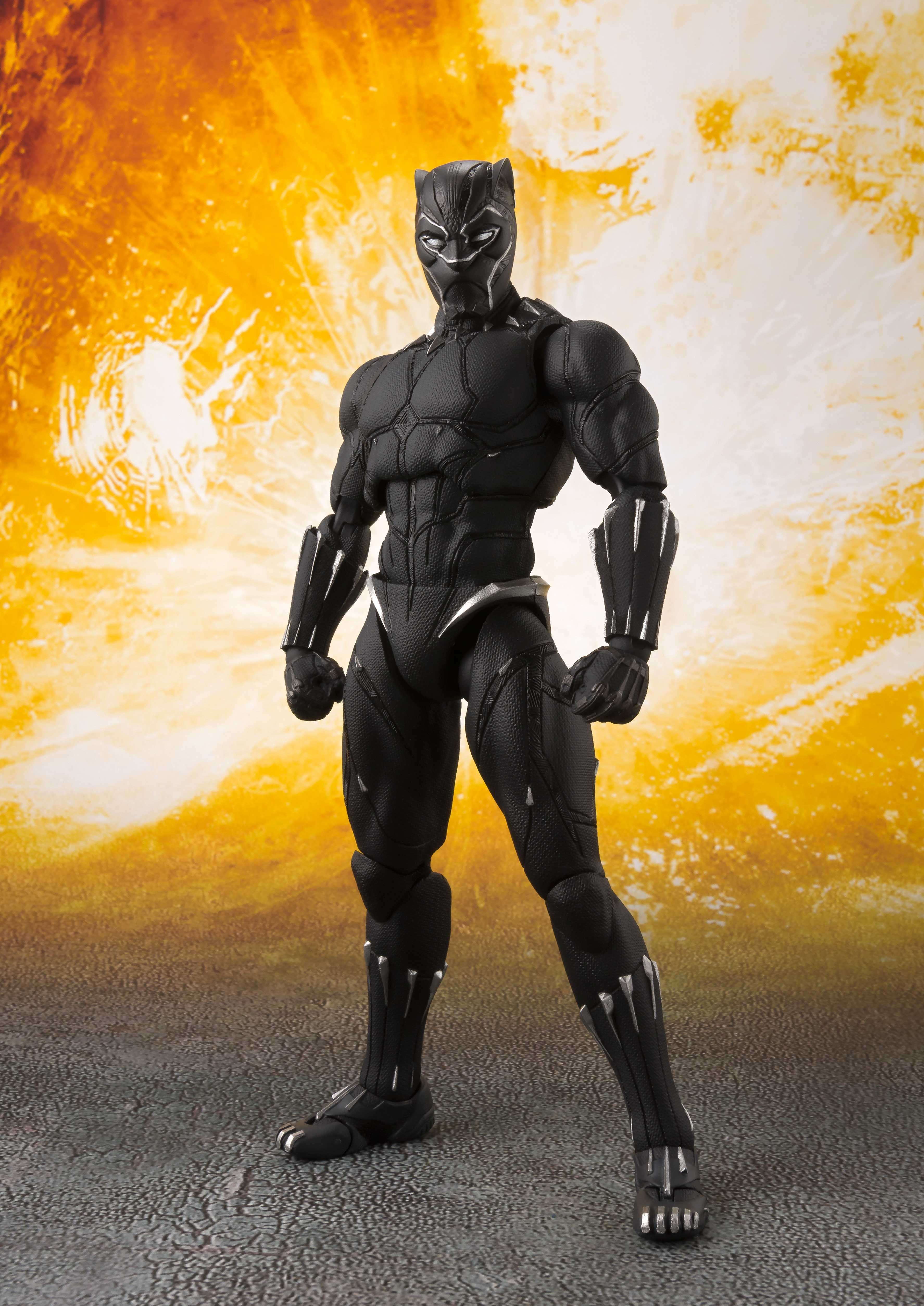 [Pre-Order] S.H. Figuarts: Avengers: Infinity War - Black Panther & Tamashii Effect Rock