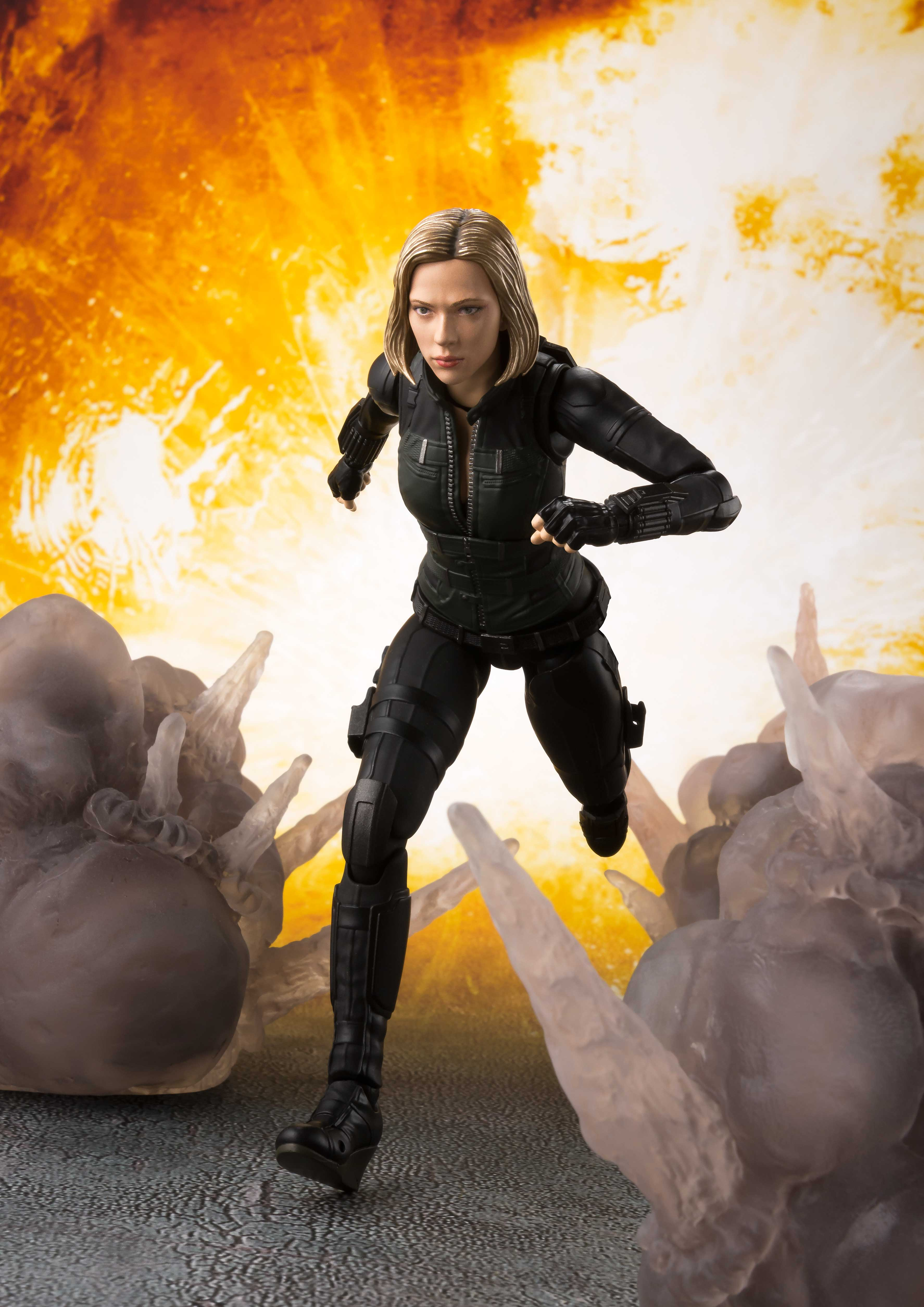 [Pre-Order] S.H. Figuarts: Avengers: Infinity War - Black Widow & Tamashii Effect Explosion