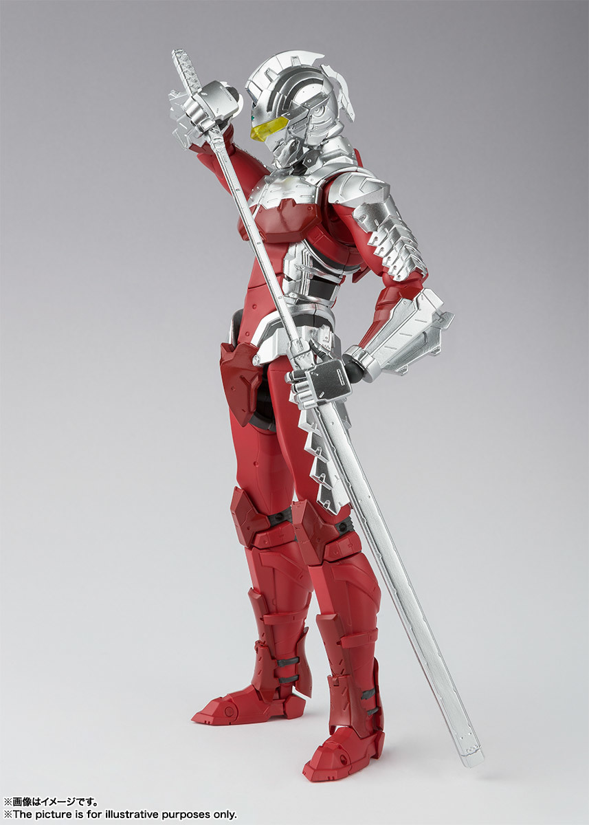 [Pre-Order] S.H.Figuarts - Ultraman Suit Ver 7 The Animation Netflix Ver.