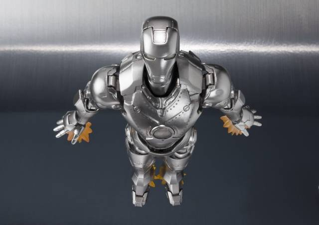 S.H. Figuarts: Marvel - Iron Man Mark II with Hall of Armor Set