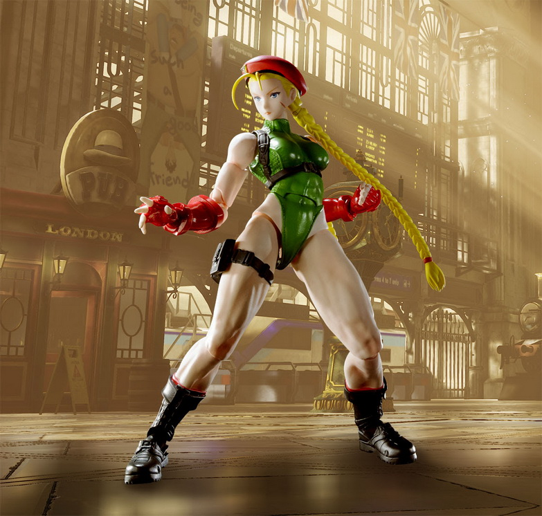 S.H.FIguarts Street Fighter V - Cammy