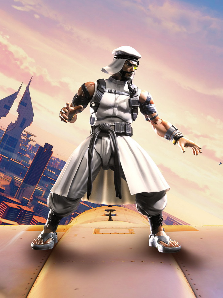 S.H.FIguarts Street Fighter V - Rashid *Clearance