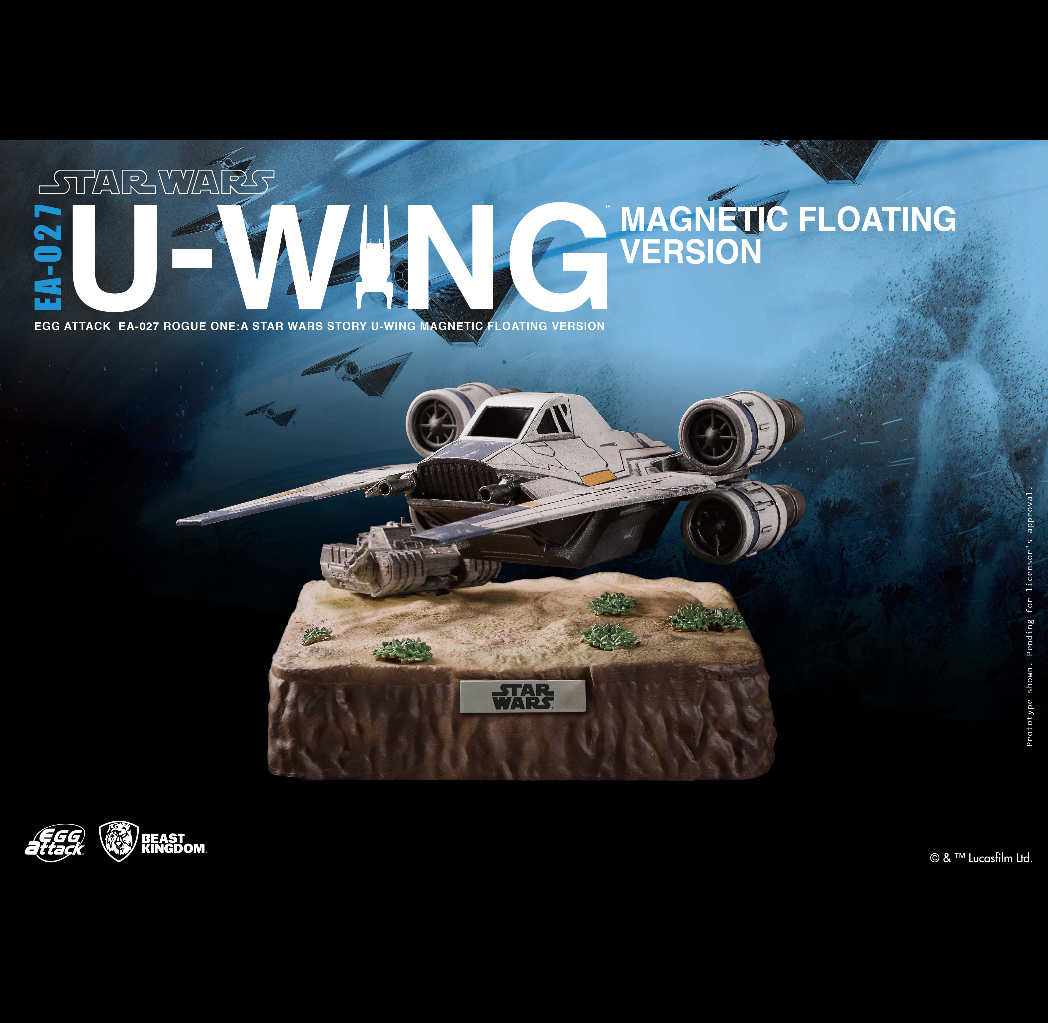Egg Attack Action : Star Wars - Floating U-Wing