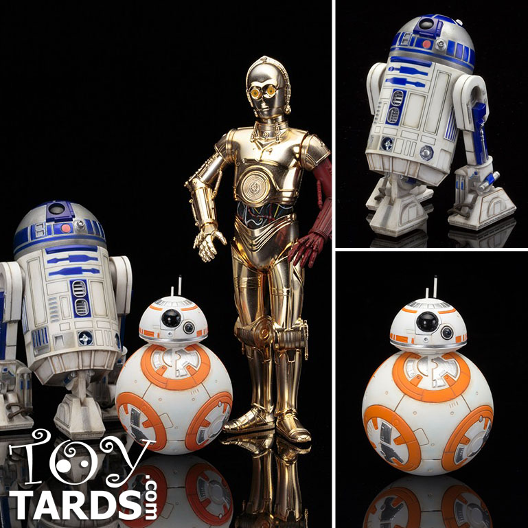 ArtFX+: Star Wars - The Force Awakens - R2-D2 & C-3PO with BB-8