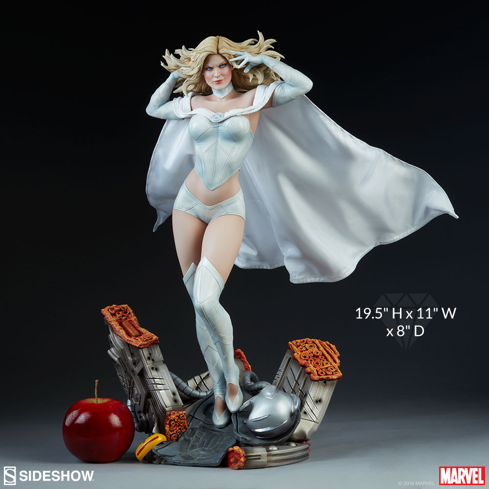 [Pre-Order] Emma Frost Premium Format - Click Image to Close