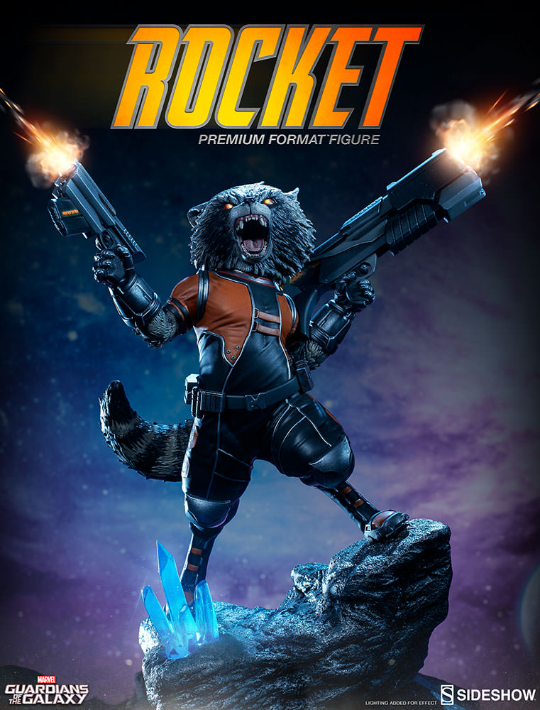 [Pre-Order] Guardian of the Galaxy - Rocket Raccoon Premium Format
